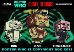 Doctor Who - Cubee Who 15 by mikedaws