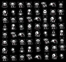 Skelanimals Wallpaper by Konotashi