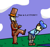 This is LAYTON by neomattlac