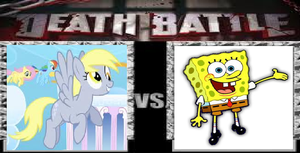 Death Battle: Derpy Hooves vs. Spongebob by Cyndaquil123
