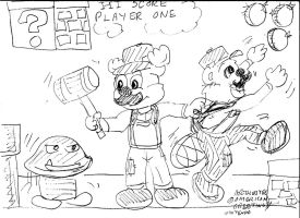 Game On, Bros. by Artytoons