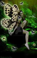 Forest Fairy by babsartcreations