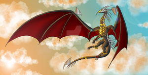 Guardian of the Sky by Vallany