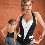 Office affair Corset by Oniko-art
