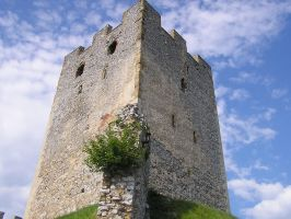 Old Castle Tower by dig-undeground