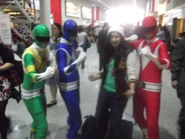 London MCM Expo - Mighty Morphin Power Rangers by DoctorWhoOne