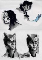 Loki sketches by Frodos