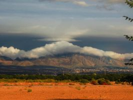 Cloudy Mountain by SharPhotography