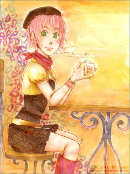 Madame Cafe by MechaBerry