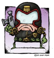 Judge Dredd by stuartmcghee