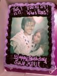 This Is It! You're 24! Who's Bad? Birthday Cake by Glam-Baby