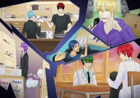 KnB - Freetime by innes-chan