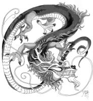 wannabe chinese dragon by nyemi