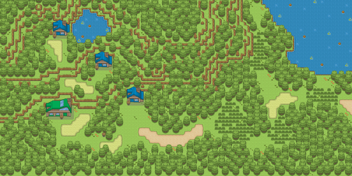 Overworld, all Maps connected by RealPoki