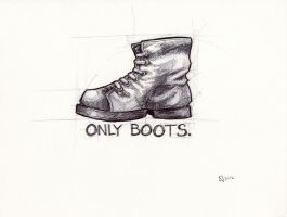 onlyboots by loonerspacecraft