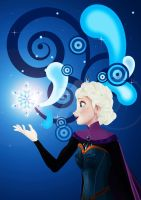 Elsa the Snow Queen by mollycules21