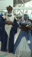 Steampunk Ice King and Ice Queen at AX 2013 by trivto