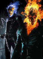 My Poster for Ghost Rider 2 by TheFreakVersion666