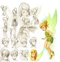 Tinker Bell Study by InfinityWork