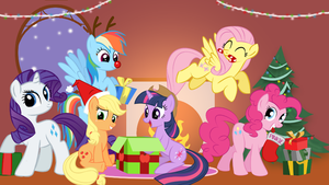 Merry Christmas everypony ! by quizda31