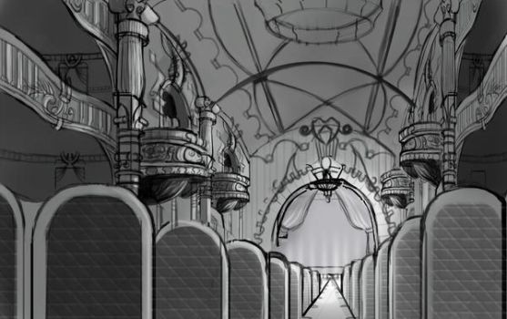 opera house sketch by XDanteSparda1X