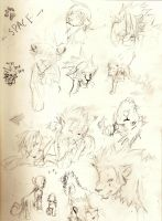 KH Lion Sketches 3.0 by blackmagepanda