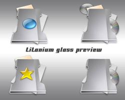 Titanium Glass Preview by weboso