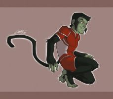 YJ: Beast Boy by lahteh