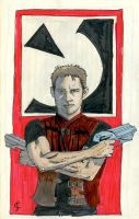 J is for John Crichton by crisurdiales