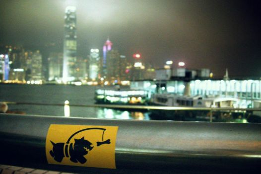 'Chasing Bones' in Hong Kong by ThePpeGFX