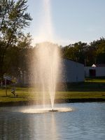 Water feature in the Sunlight by sakaphotogrfx