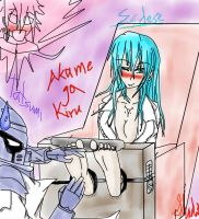 Akame ga Kiru Esdese Tickled (Colored) by DeathBlackShadoz