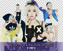 Render Pack #4 Park Hyomin Nice Body by Bellacrix