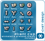 Pliant Cursors by digitalchet