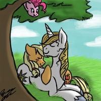 SECRET CUDDLES - Request from Paulinaghost by ThunderShock0823
