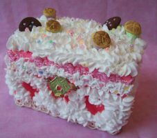 Pink Heaven Cake Box by TheBloodMaiden
