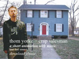 thom yorke - crap salesman by PhoenixSparrow