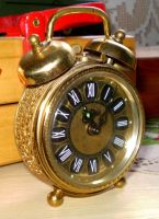 Old Clock by rewinded-stock