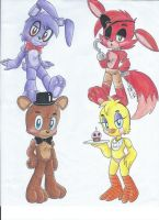 My first FNAF by sonicartist16