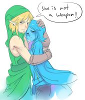 Fi And Link by ManiacPaint