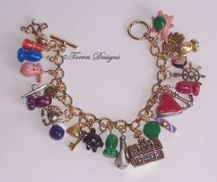 Wind Waker Bracelet 2 ZELDA by TorresDesigns