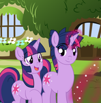 Twilight y Dusk Shine by reina-del-caos
