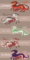 [ONLY 2 LEFT] Luck Dragon Adopts by Simkaye