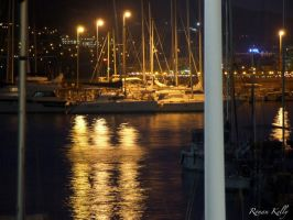 Ripple In The Harbour Water by ronankelly