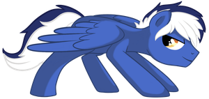 Blue Blaze 2 - Pony OC by pepooni