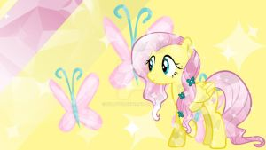 fluttershy wallpaper #1 by fillypie