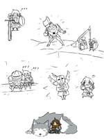 The Chibi Undead by owlizard