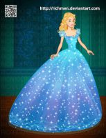 Cinderella Cenicienta 2015 by Richmen