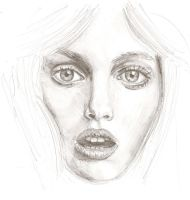 Face Sketch by e5ther