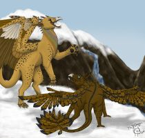 Tumbes and Jribbles by 768dragon